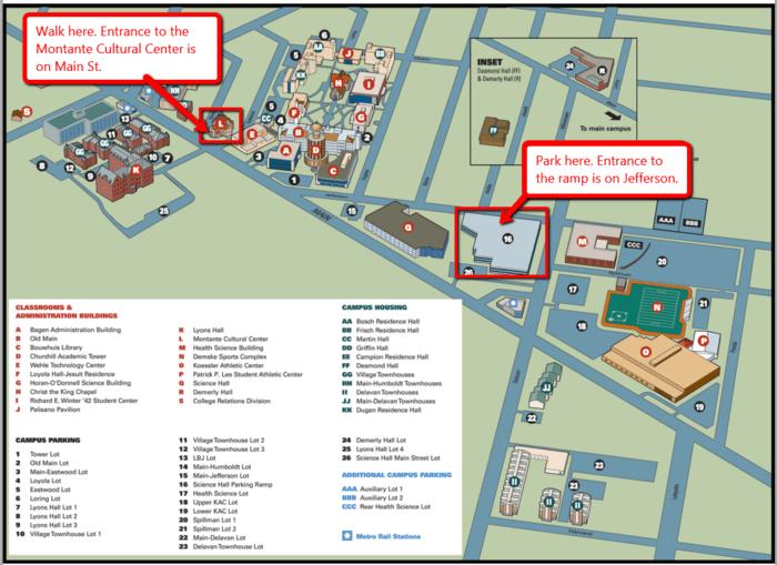 Canisius College Campus Map